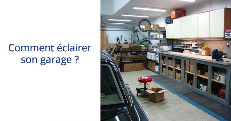 eclairer son garage