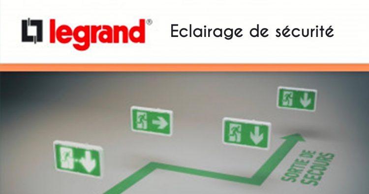 éclairage de sécurité Legrand