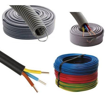 Gaines, conduits et câbles